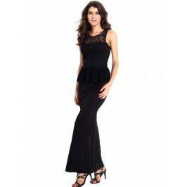 Dámske šaty LC6341 M Černá