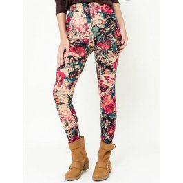 Dámske nohavice LEG41506_rose Framboise Abricot uni Růžová