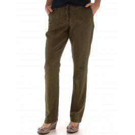 Dámské kalhoty s.Oliver, khaki