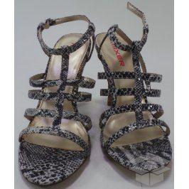 Dámské sandály Mixer, hadí kůže, 40