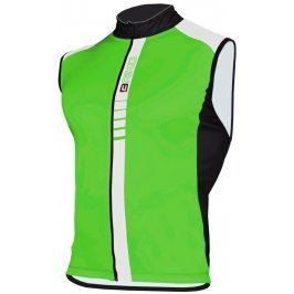 Briko Sprinter GT Team Sleeveless Green/Fluo White/Black, L, zelená