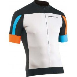 Northwave Sonic Short Sleeves Invisible zip White/Black, XXXL, bílá