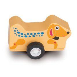O-OOPS Easy-Jet! - Dřevěná jezdící hračka
