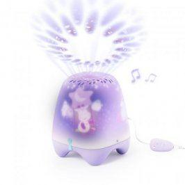 Pabobo Musical Dream Theater- Hudební světelné LED divadélko-Purple Giraffe