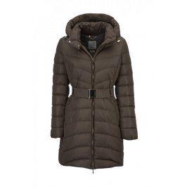 Dámský kabát Geox, hnědý, 42