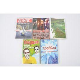 5x DVD - Olympic, Těžkej pokondr a další