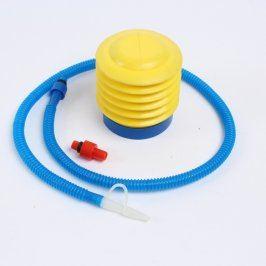 Nášlapná pumpička plastová žlutá