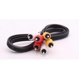 Propojovací kabel 3x Cinch M 120 cm