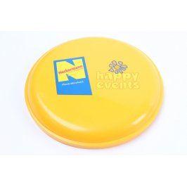 Frisbee žluté reklamní motiv