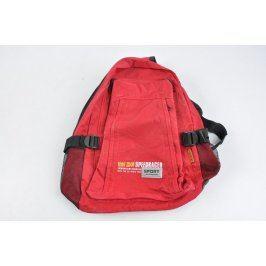 Sportovní batoh červený 35 x 40 cm