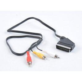 AV kabel Scart/3 x Cinch délka 100 cm