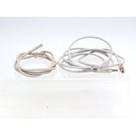 Síťový kabel RJ45 90 cm a USB kabel 180 cm