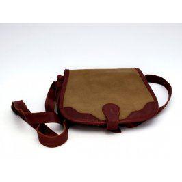 Dámská kabelka s peněženkou uvnitř