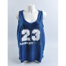 Basketbalový dres modrý s nápisem