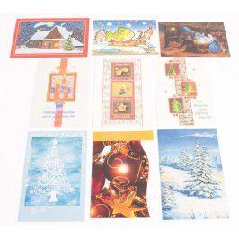 Sada různých pohlednic 29 kusů