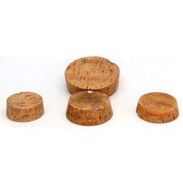Korková zátka na lahve 4 kusy