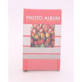 Fotoalbum s tulipány červené na 60 fotek