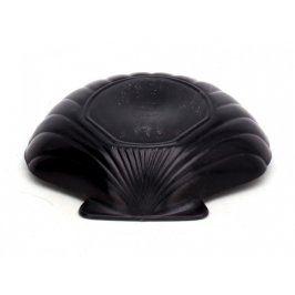 Forma na puding ve tvaru mušle černá