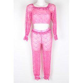 Dětský kostým na břišní tance růžový