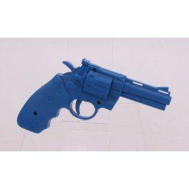 Dětská pistolka plastová modrá