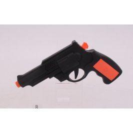 Dětská natahovací pistolka černá
