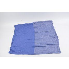 Dámská šála odstín modré