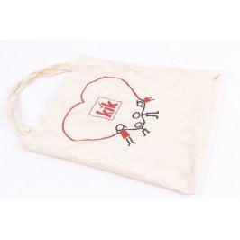 Nákupní plátěná taška KIK béžová