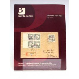 Katalog Burda Auction písemná aukce 25