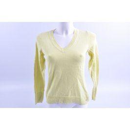 Dámský svetr s.Oliver světle žlutý