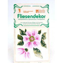 Samolepky na kachličky se vzorem květin
