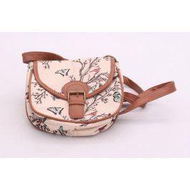 Dámská kabelka F&F s motýly a ptáky