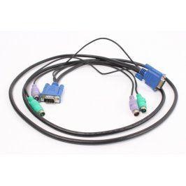 Propojovací kabely VGA a PS/2 konektory