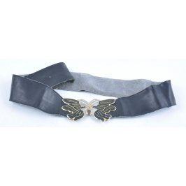 Dámský opasek se sponou ve tvaru motýla