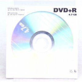 Prázdné DVD+R 4,7 GB rychlost 16x