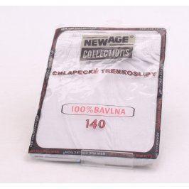 Trenkoslipy New age collections 928F bílé