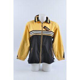 Bunda ASCENT černo-žlutá s odepínací kapucí