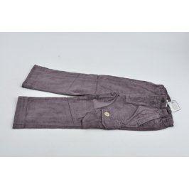 Chlapecké manšestrové kalhoty Wolf šedé