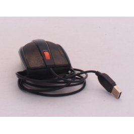 Laserová myš kabelová černá