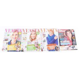 Časopisy Vlasta a Story