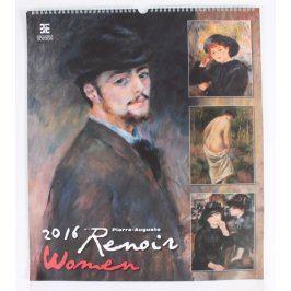 Kalendář Renoir - Women 2016