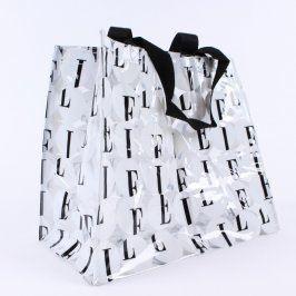 Dámská taška Elle bílá průhledná