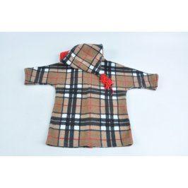 Dětský kabátek kostkovaný