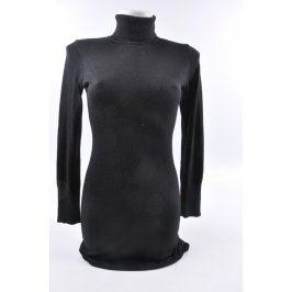 Dámské černé rolákové šaty