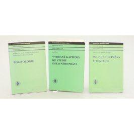 3 učebnice pro Právnickou fakultu