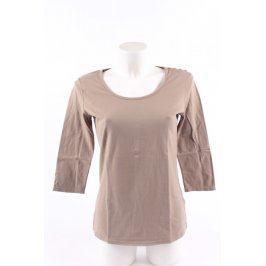 Dámské tričko My Basic odstín béžové