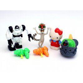 Mix plastových postaviček - 6 kusů