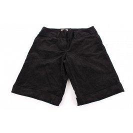 Dámské manšestrové šortky WE černé