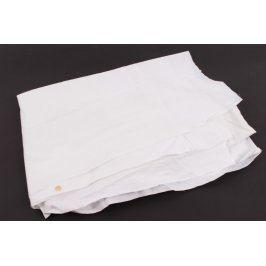 Bílý ubrus 180 x 130 cm obdélníkový