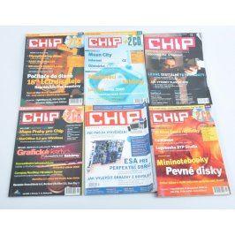 Barevný časopis Chip 6 kusů