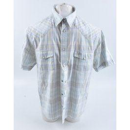 Pánská košile Buffalo s krátkým rukávem